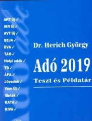 Adó 2019 Teszt és Példatár