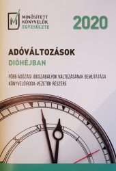 ADÓVÁLTOZÁSOK DIÓHÉJBAN 2020