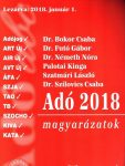 Adó 2018 Magyarázatok