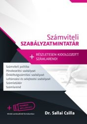 Számviteli Szabályzatmintatár + Számlarend 2017-2018